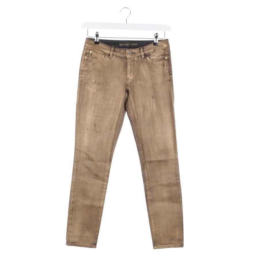 Jeans von Michael Kors in Gold und Schwarz Gr. W25