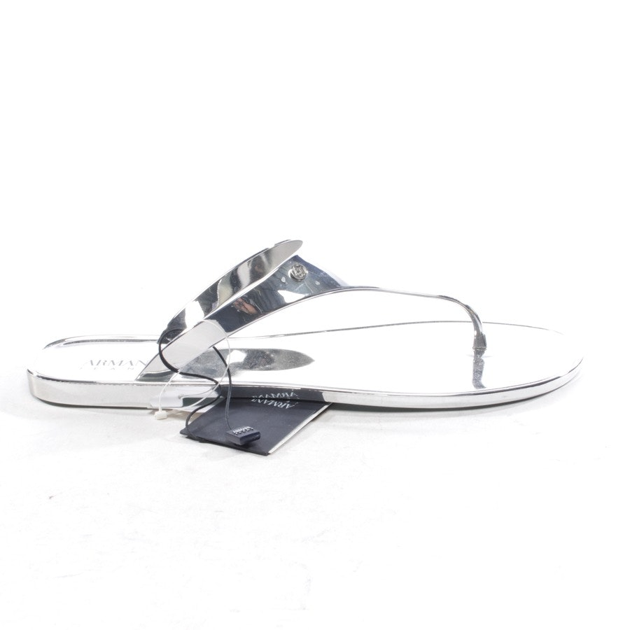 flat sandals from Armani Jeans in silver size D 41