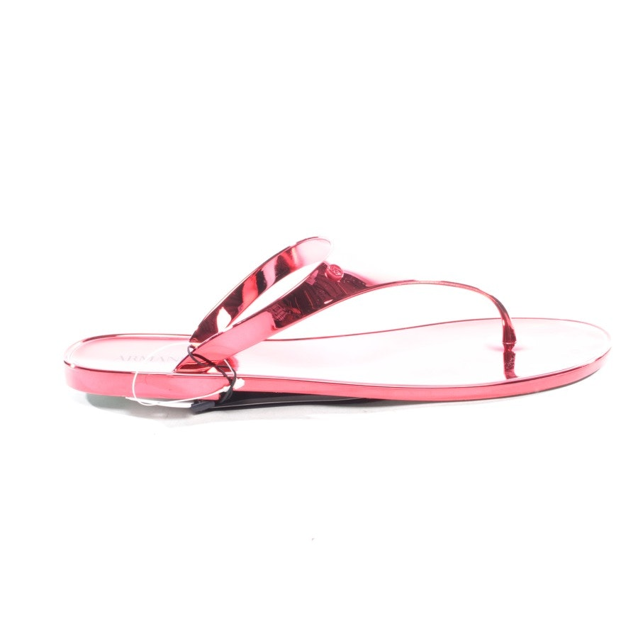 flat sandals from Armani Jeans in auburn size D 41 - new