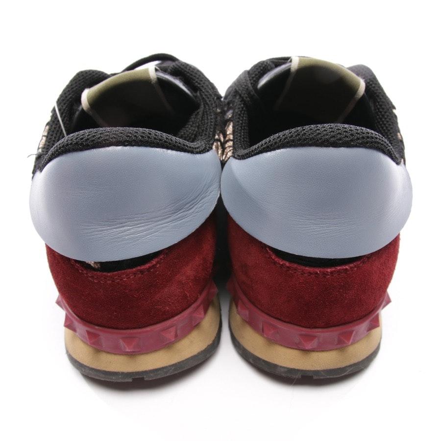 Sneaker von Valentino in Schwarz und Multicolor Gr. D 39 - Rockstud