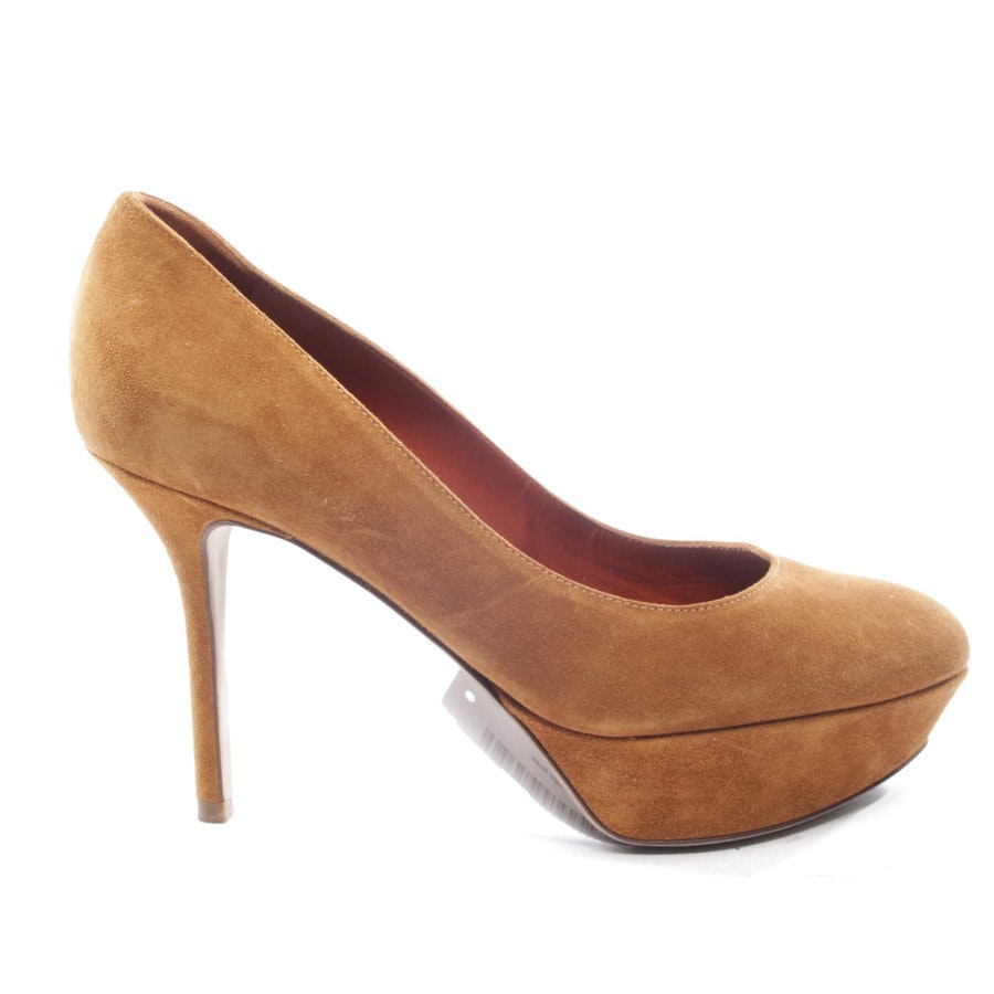 pumps from Sergio Rossi in camel size D 38,5