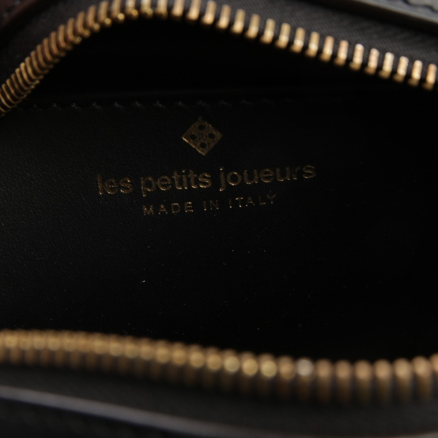 Abendtasche von Les Petits Joueurs in Schwarz
