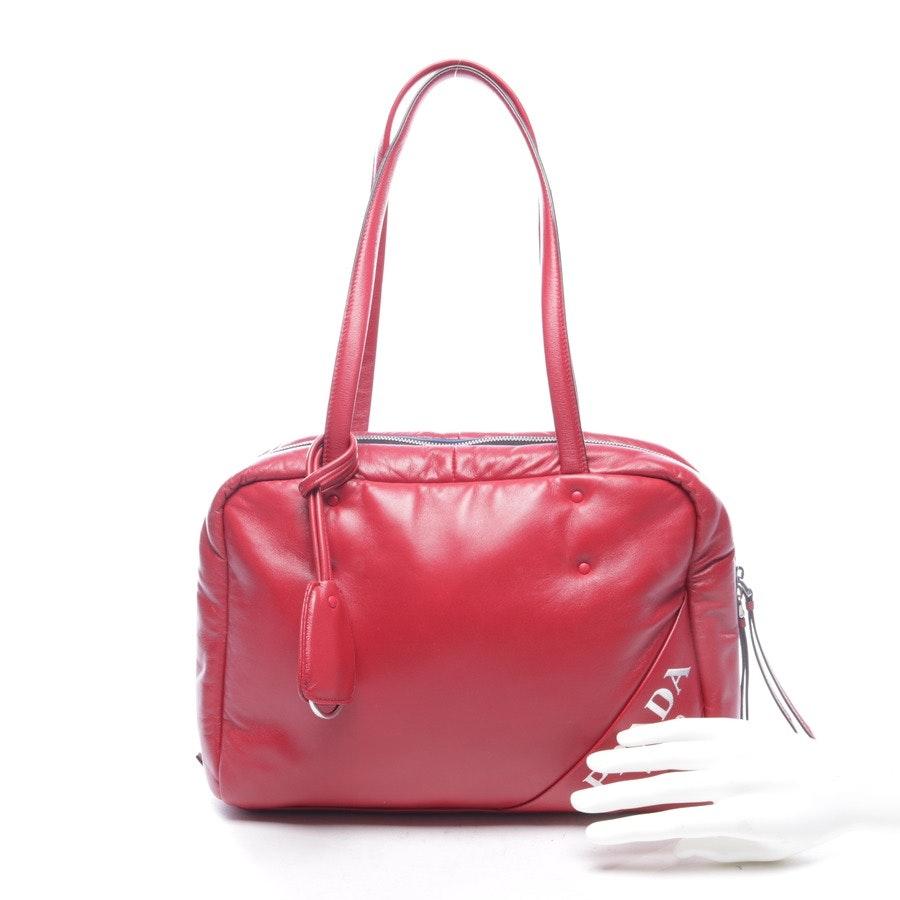 shoulder bag from Prada in red
