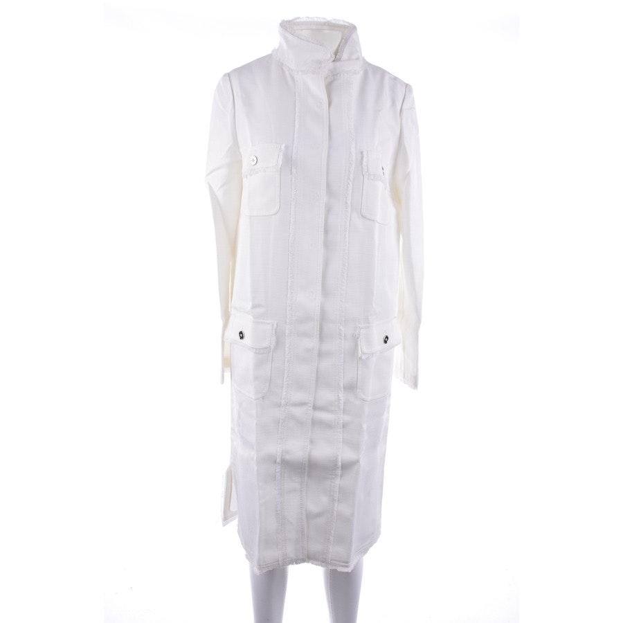 Übergangsjacke von Dolce & Gabbana in Weiß Gr. DE 36 IT 42