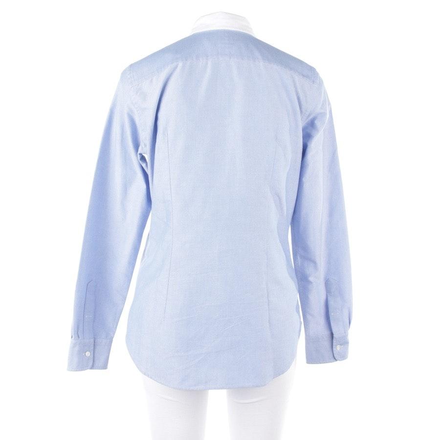 Bluse von Polo Ralph Lauren in Hellblau und Weiß Gr. 40