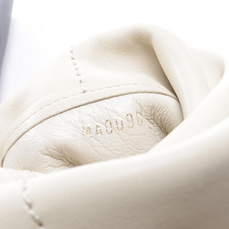 Stiefel von Louis Vuitton in Cremeweiß Gr. EUR 37,5