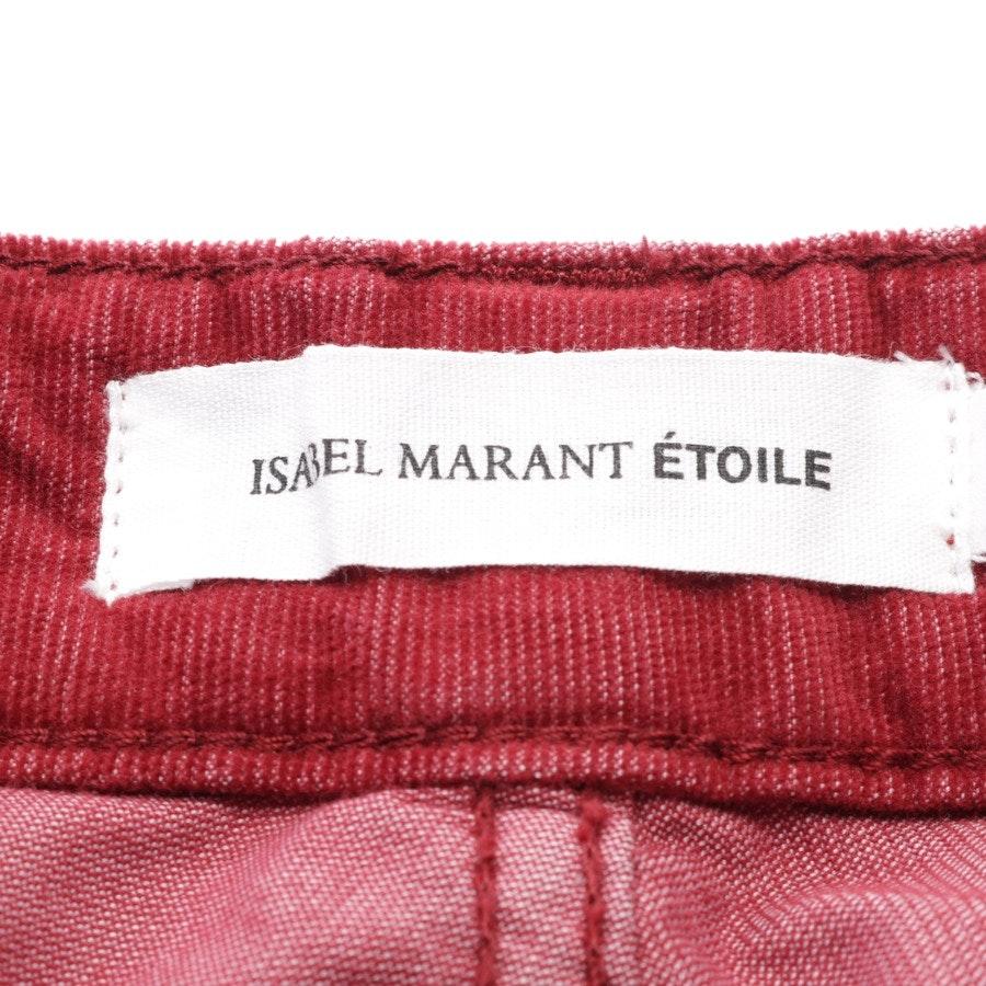 Cordrock von Isabel Marant Étoile in Rot Gr. 40 FR42