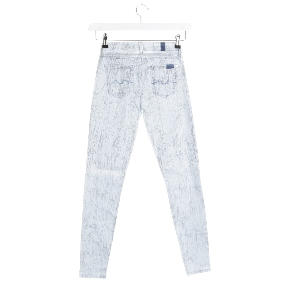 jeans from 7 for all mankind in light blue and grey size W24 - the skinny