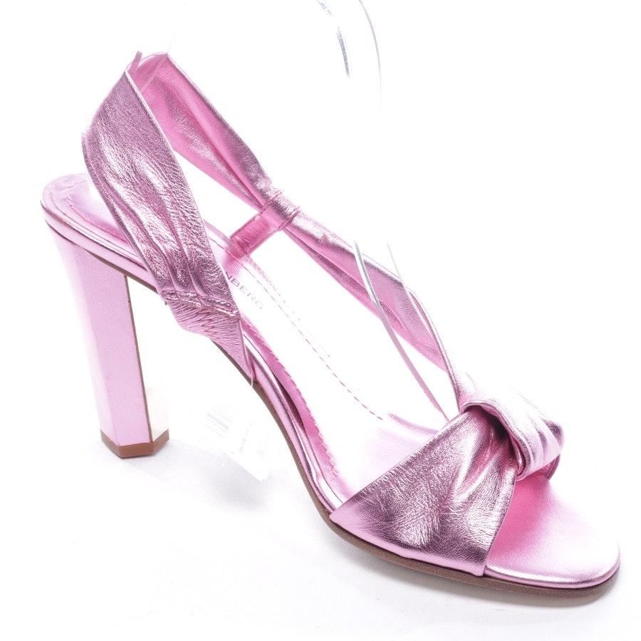 Sandaletten von Diane von Furstenberg in Rosa Gr. D 39 US 9 - Neu
