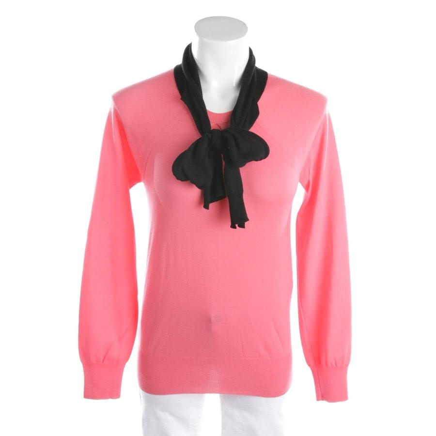 Wollpullover von Louis Vuitton in Rosa und Schwarz Gr. M