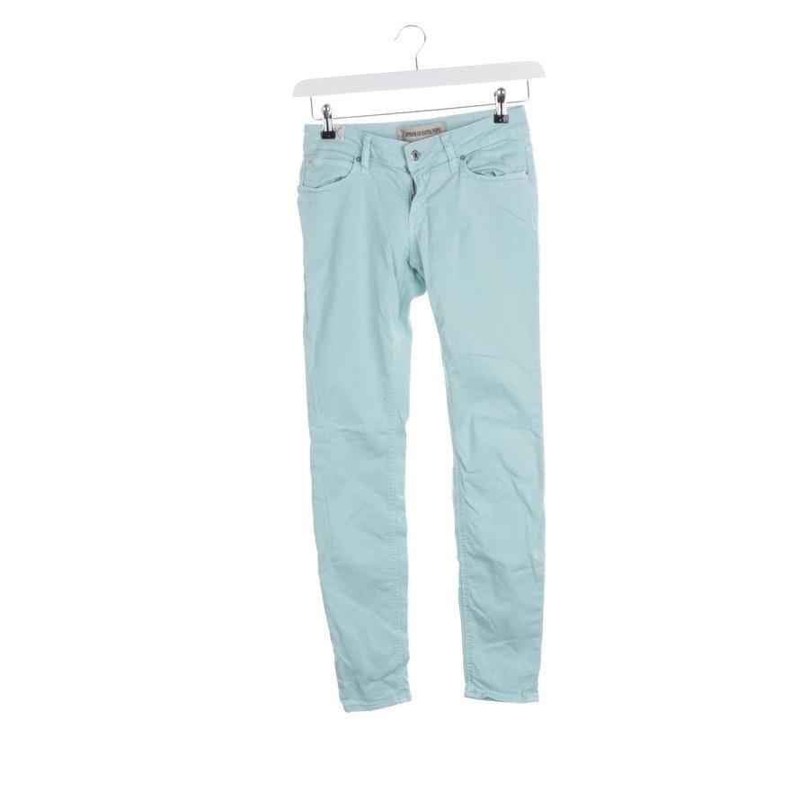 Jeans von Drykorn in Mintgrün Gr. W27