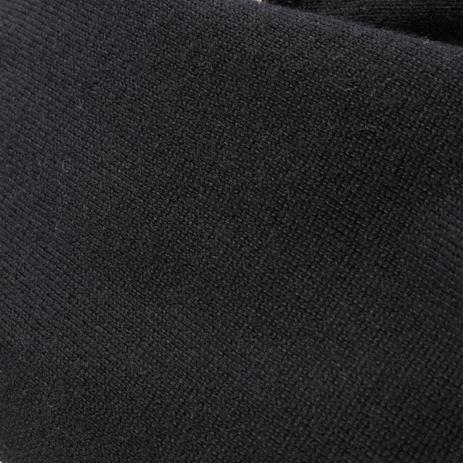 Wollpullover von Markus Lupfer in Schwarz und Grau Gr. M