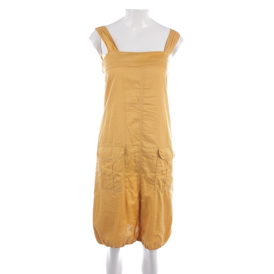 dress from Max Mara in saffron yellow size 34