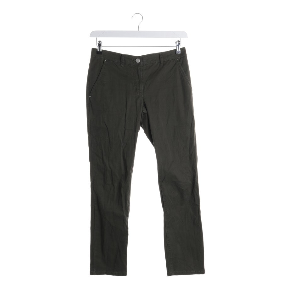 trousers from Stefanel in green size 34 IT 40