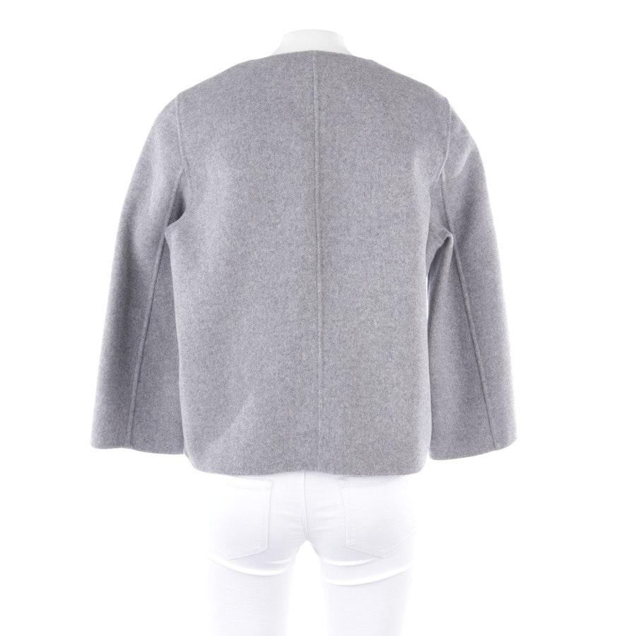 Wolljacke von Marc O'Polo Pure in Grau meliert Gr. 36