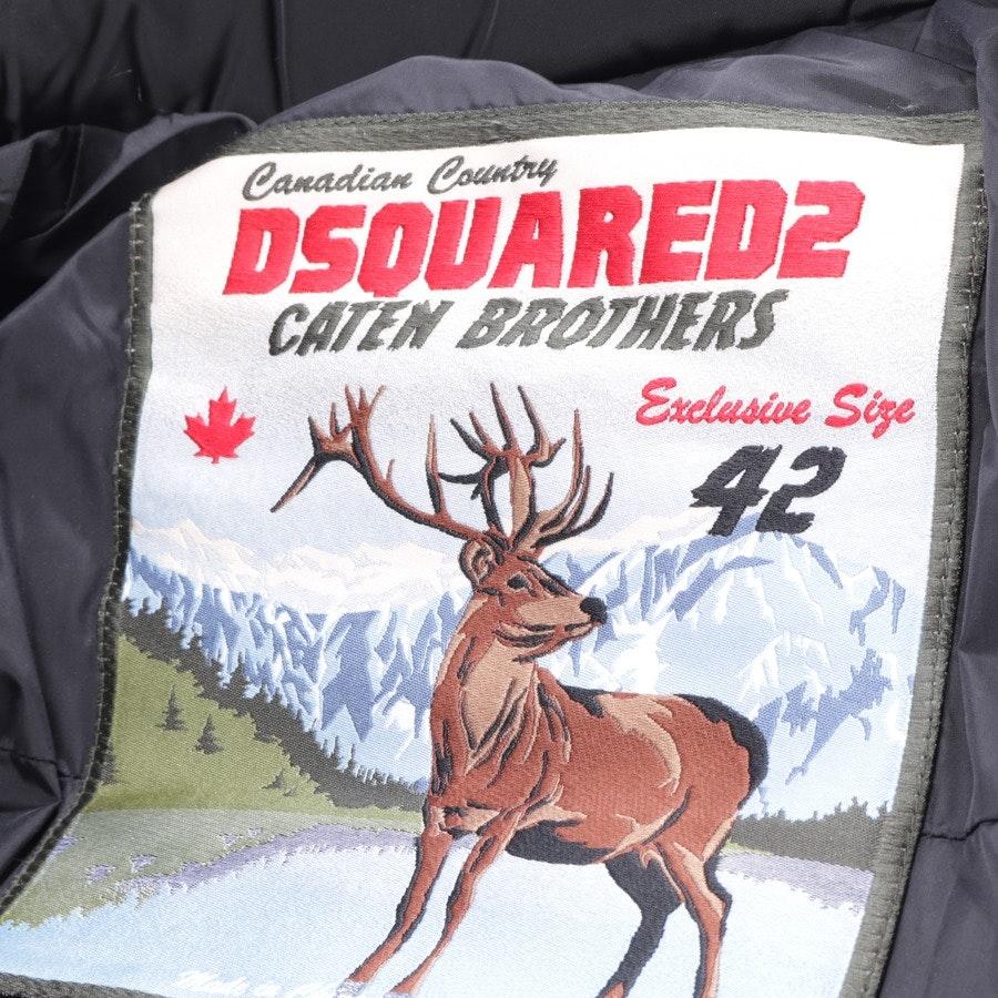 Winterjacke von Dsquared in Schwarz Gr. 36 IT 42