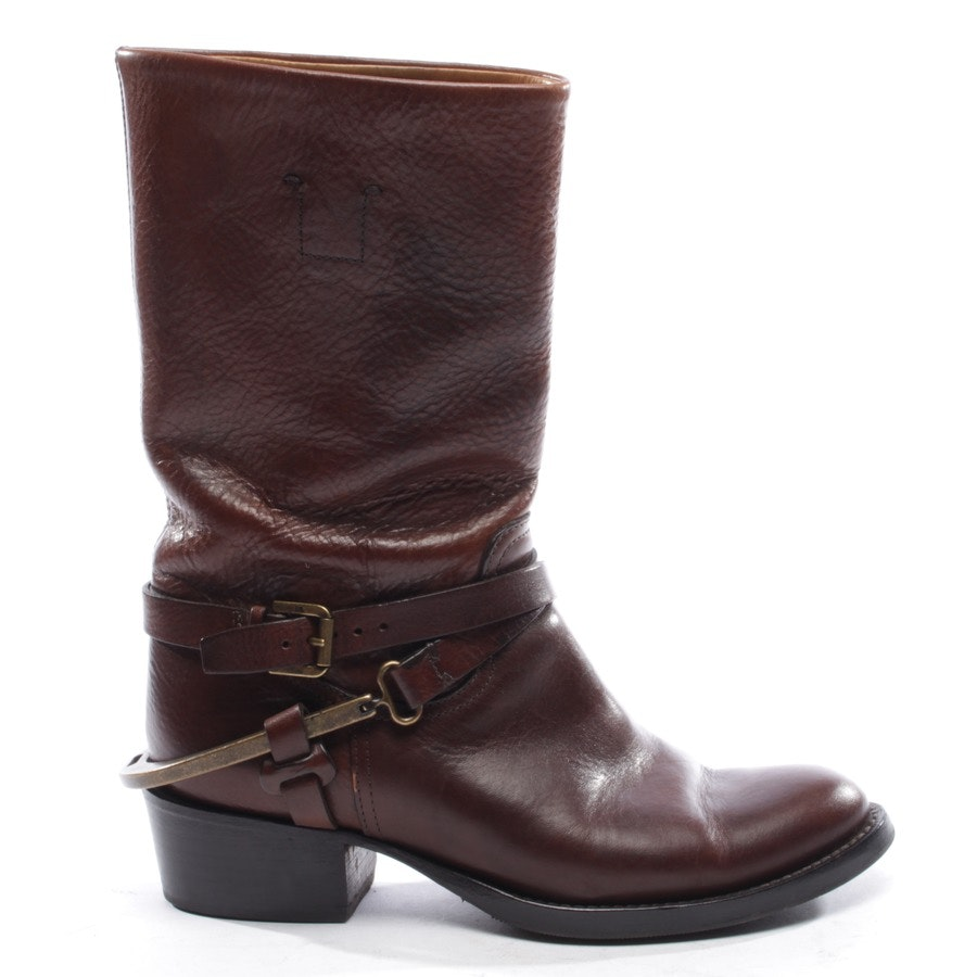boots from Ralph Lauren Purple Label in brown size EUR 36,5 US 6