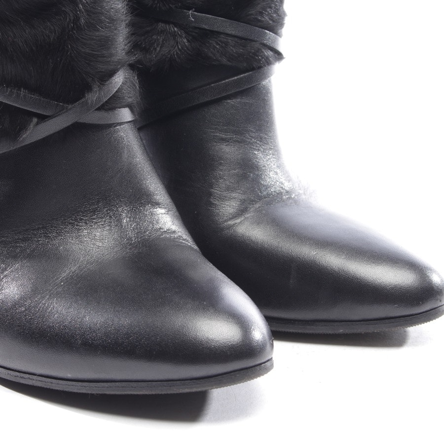 ankle boots from Ralph Lauren Purple Label in black size EUR 36,5 US 6