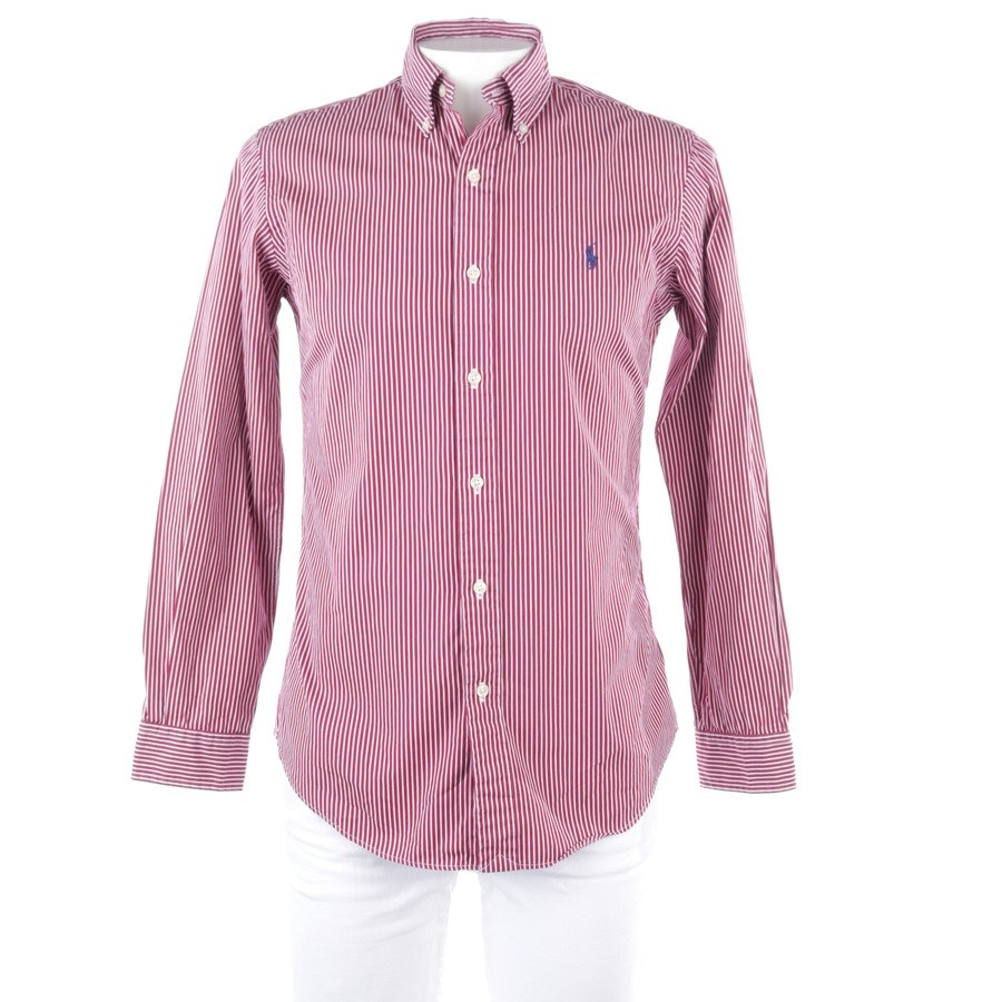 casual shirt from Polo Ralph Lauren in bordeaux and white size S