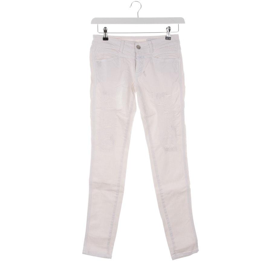 Jeans von Closed in Weiß Gr. W27