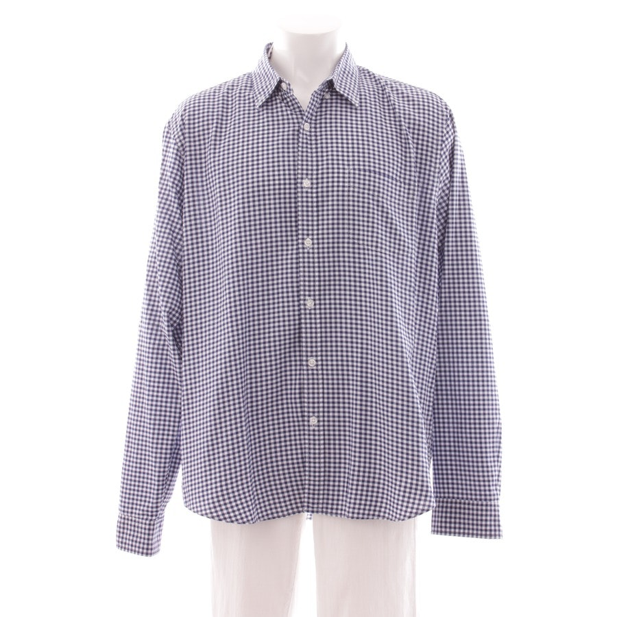 casual shirt from J.CREW in blue and white size XL