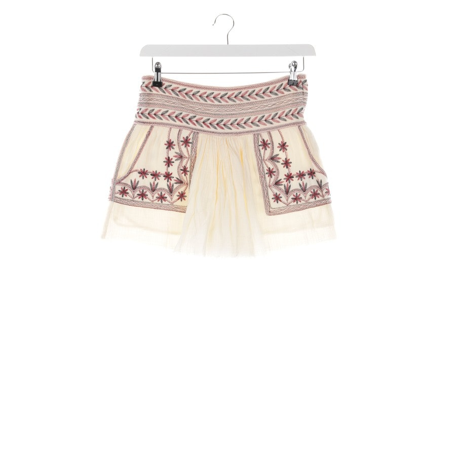 skirt from Isabel Marant Étoile in cream and red size 34 FR 36