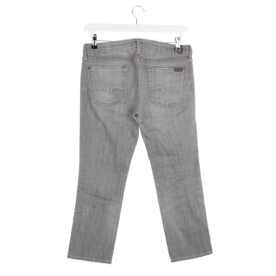 Jeans von 7 for all mankind in Grau Gr. W28