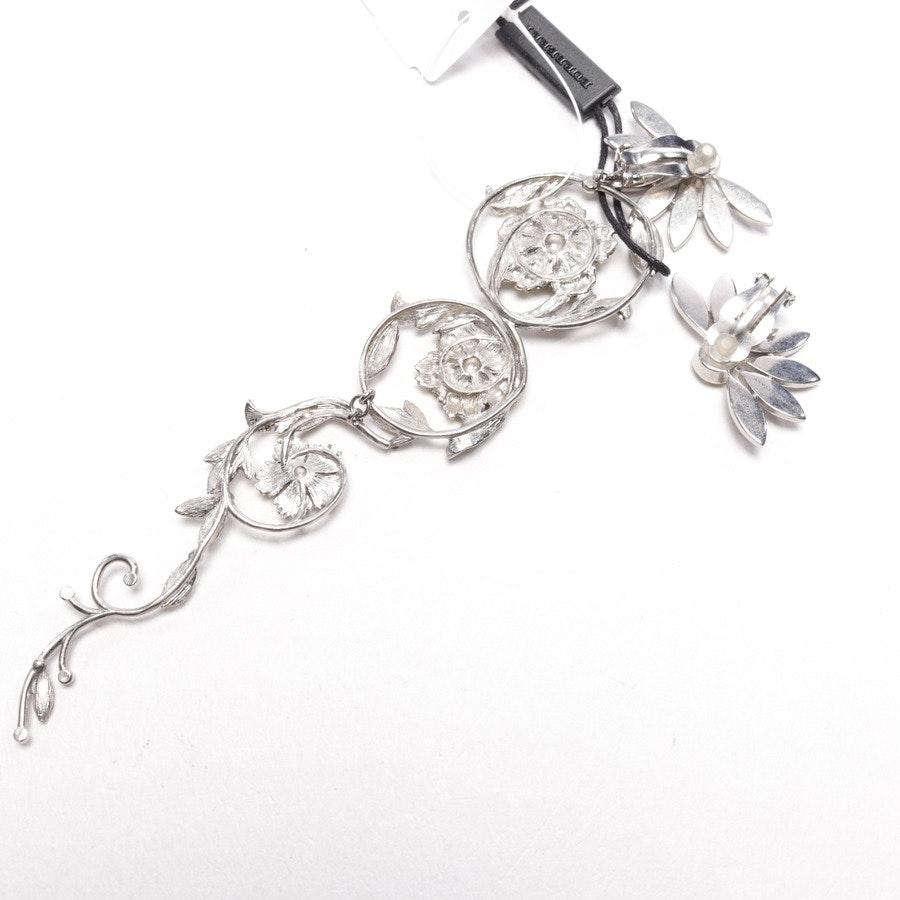 Clip-Ohrringe von Burberry in Silber und Gelb - Neu