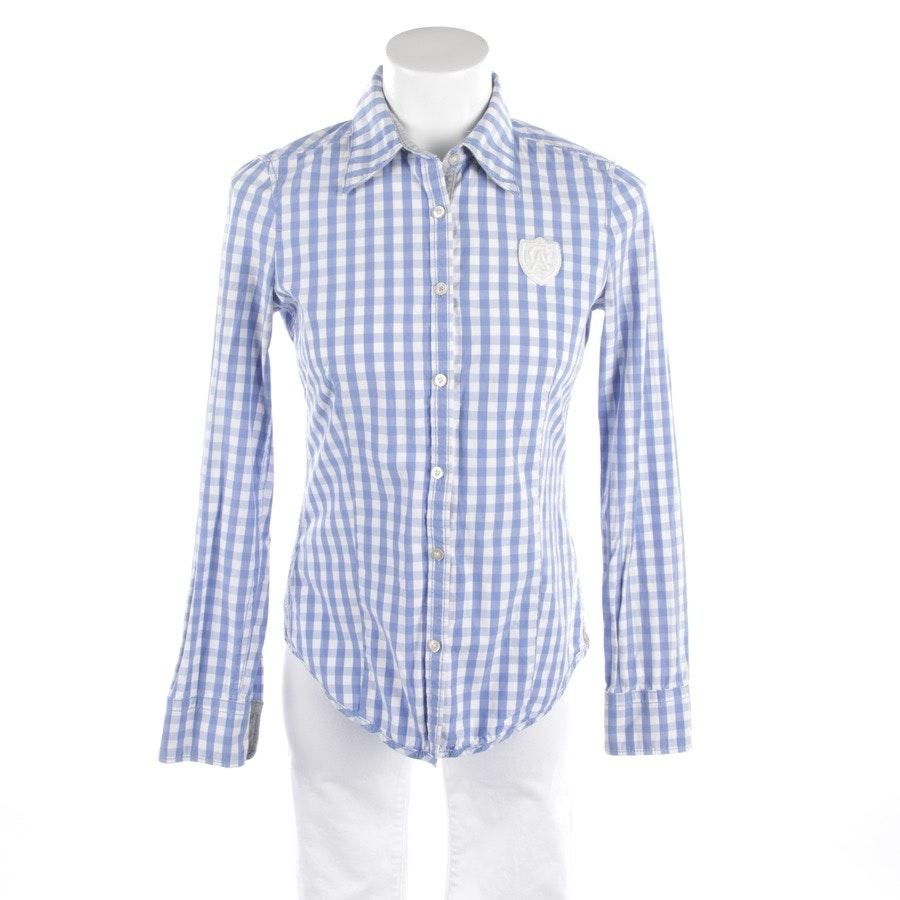 Bluse von Gaastra in Blau und Weiß Gr. XS