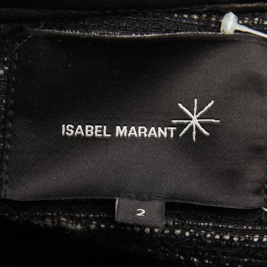 Blazer von Isabel Marant in Schwarz und Blau Gr. 36 / 2