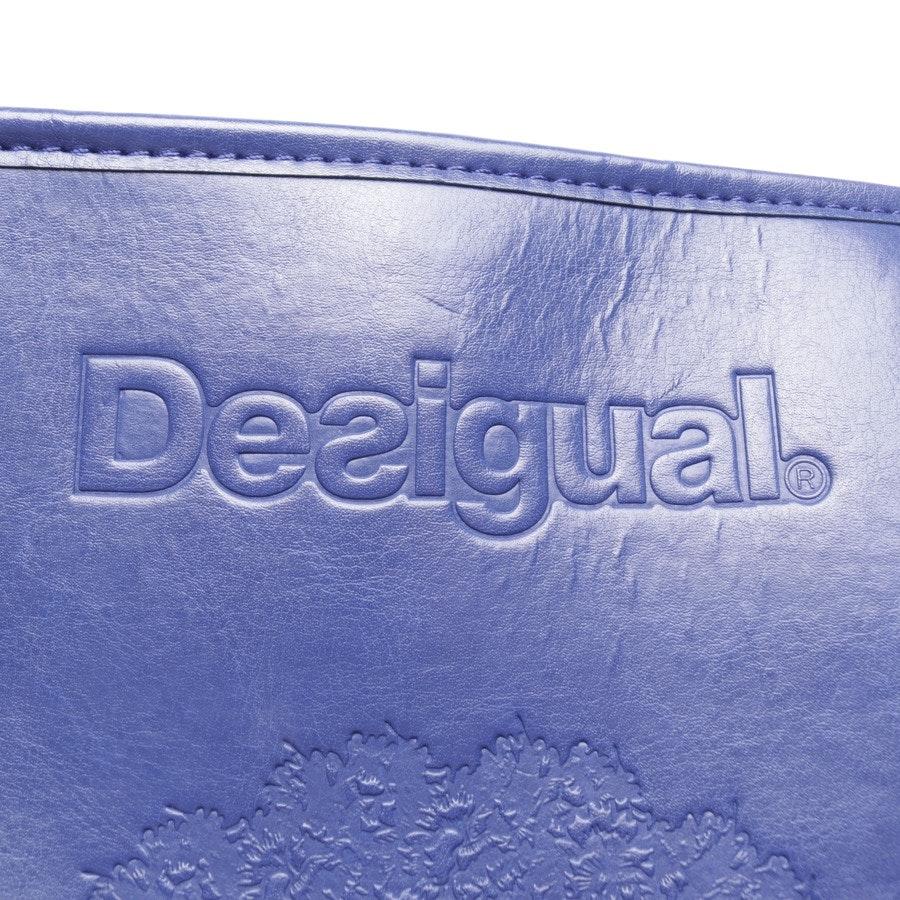 shopper from Desigual in indigo
