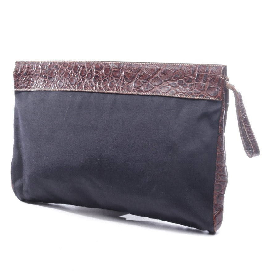 clutch from Max Mara in black and brown