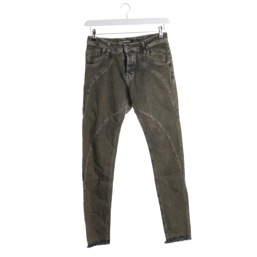 jeans from Please in green and blue size S