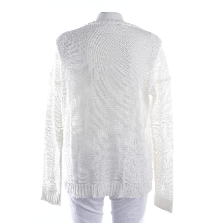 Pullover von Drykorn in Cremeweiß Gr. L