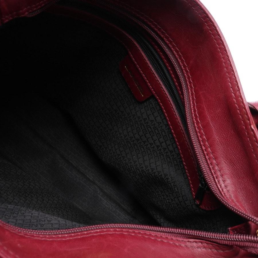 Handtasche von Lancel in Rubinrot