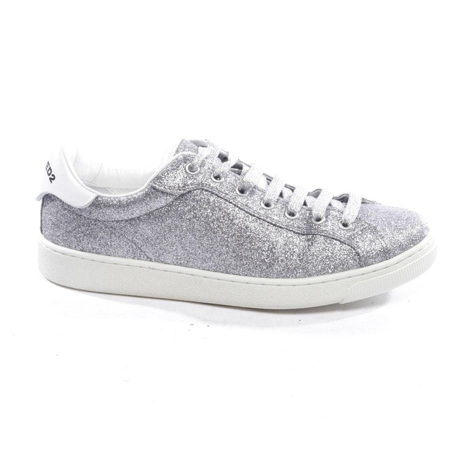 Sneaker von Dsquared in Silber Gr. D 40