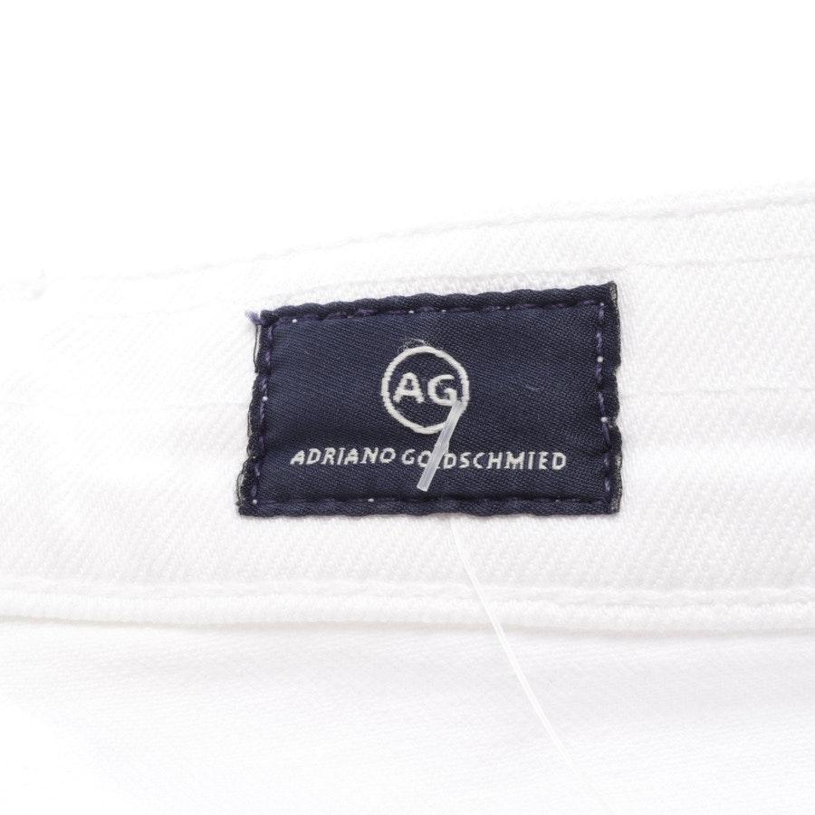 Jeans von AG Jeans in Weiß Gr. W27 - Ex-Boyfriend Slim