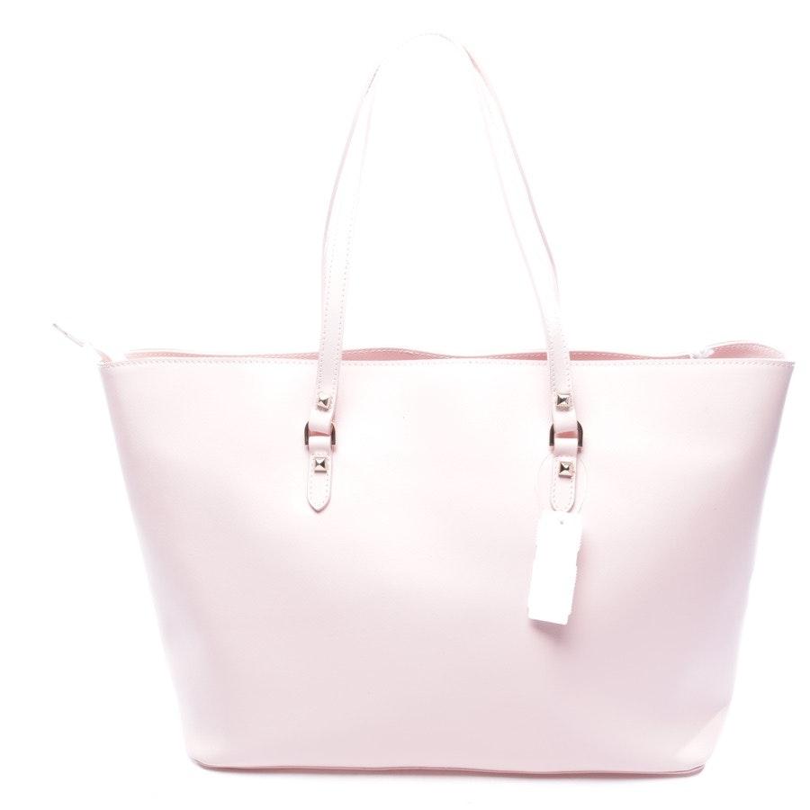 shopper from Patrizia Pepe in delicate pink