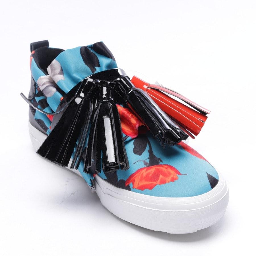 Sneaker von MSGM in Schwarz und Multicolor Gr. D 37 - Neu