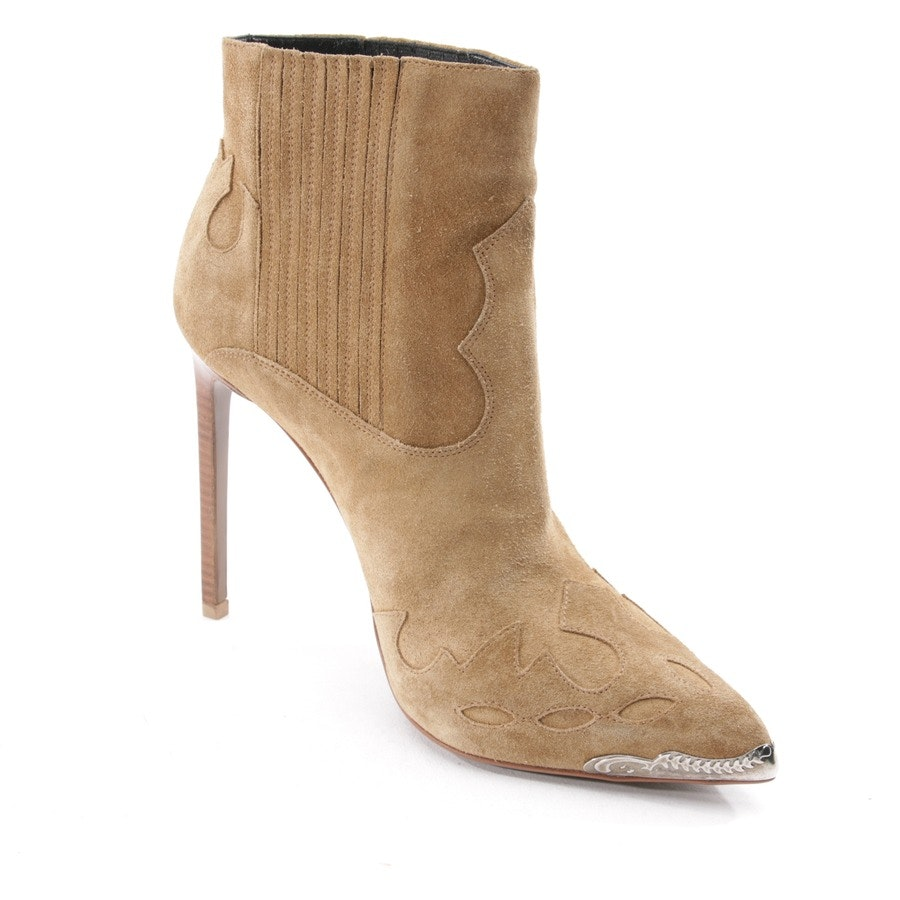 ankle boots from Yves Saint Laurent in beige size EUR 38
