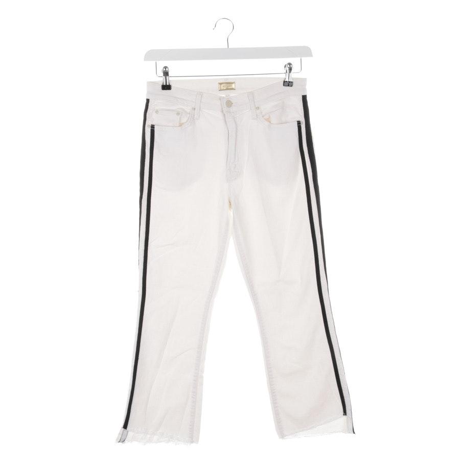 Jeans von Mother in Weiß Gr. W29