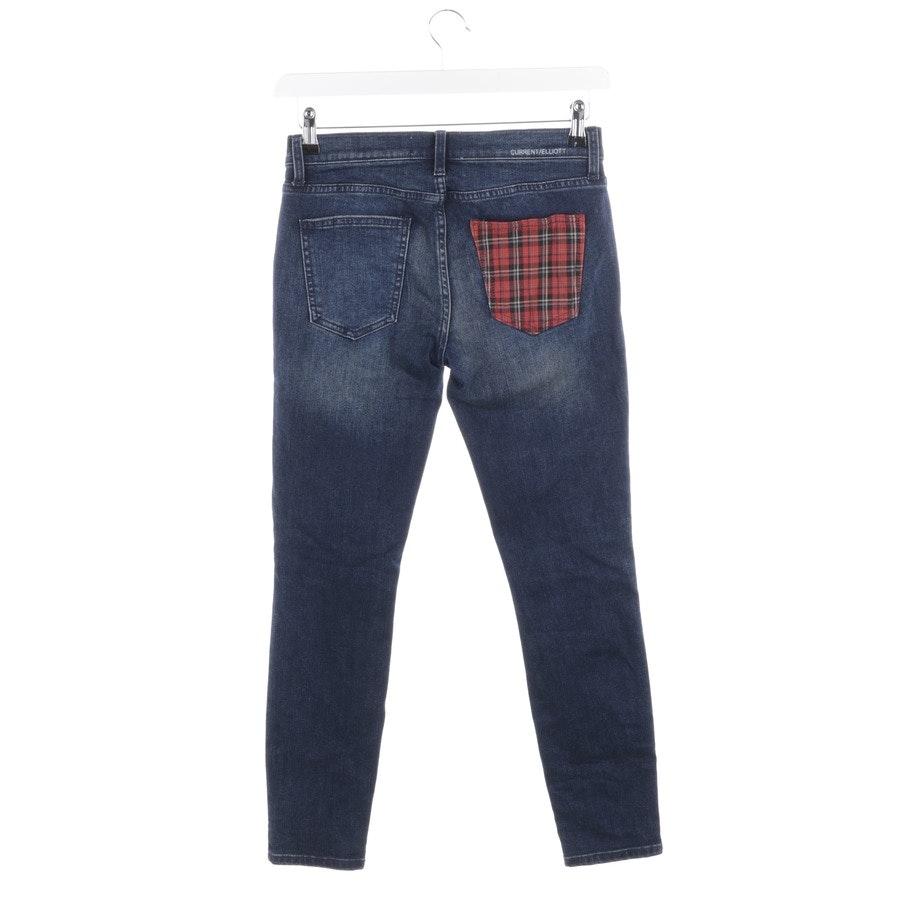 Jeans von Current/Elliott in Dunkelblau und Rot Gr. W26