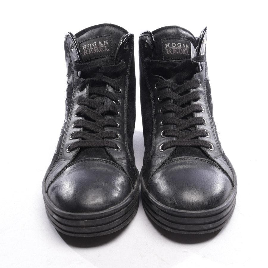 High-Top Sneaker von Hogan Rebel in Schwarz Gr. D 40,5