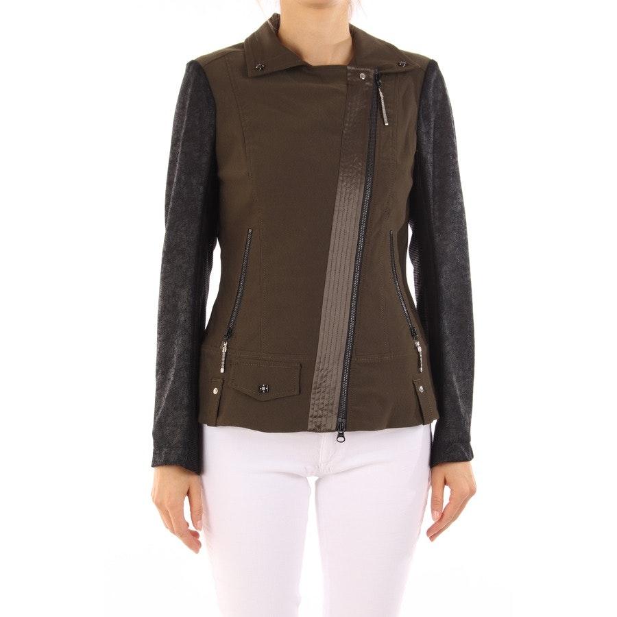 between-seasons jacket from Sportalm in khaki and black size DE 38 - new!