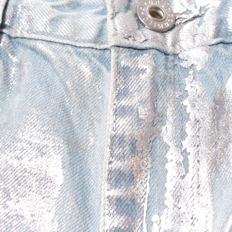 jeans from AG Jeans in silver and blue size W27 - the phoebe - new