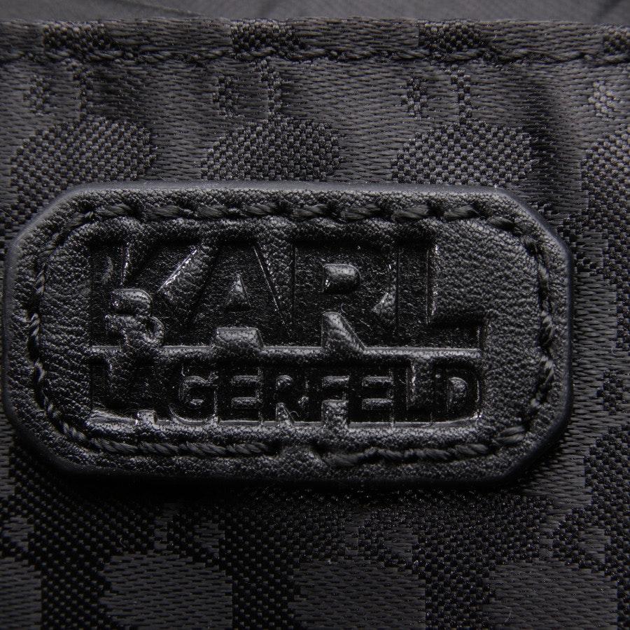 Abendtasche von Karl Lagerfeld in Schwarz und Mehrfarbig - Neu