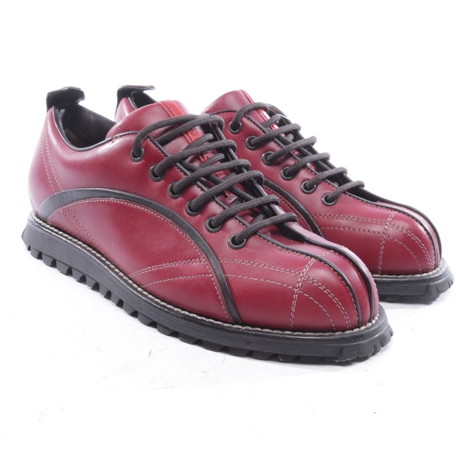 trainers from Prada Linea Rossa in bordeaux and black size D 38,5 - new