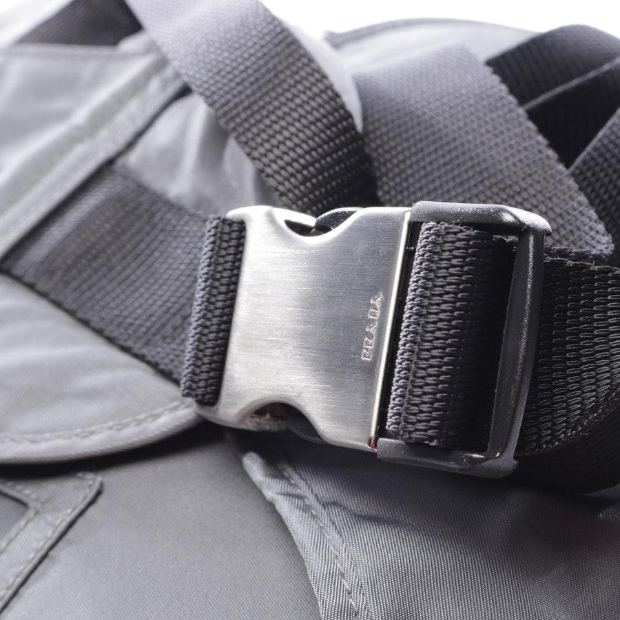 Rucksack von Prada in Grau