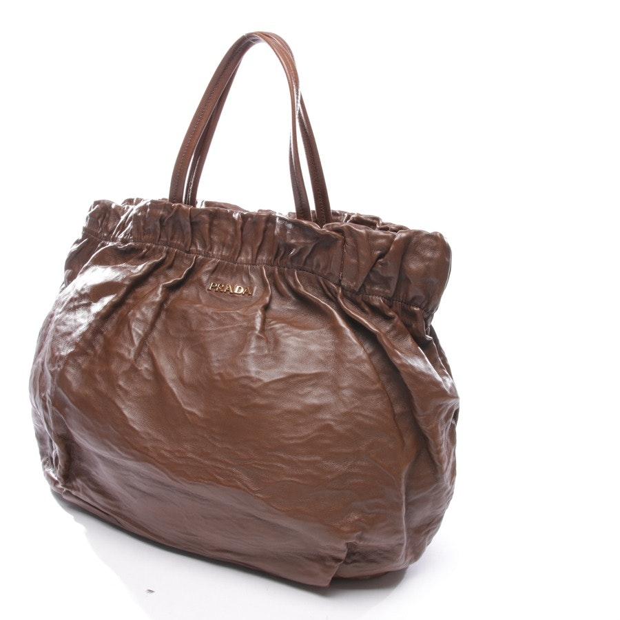 Handtasche von Prada in Braun