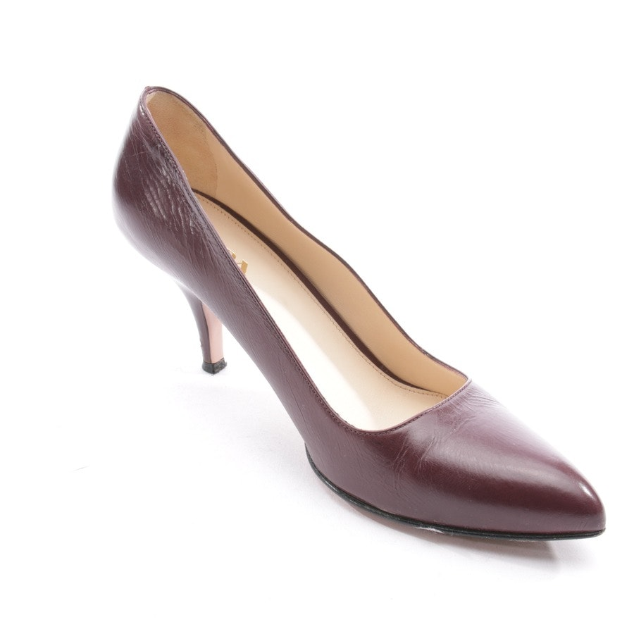 Pumps von Prada in Bordeaux Gr. D 37